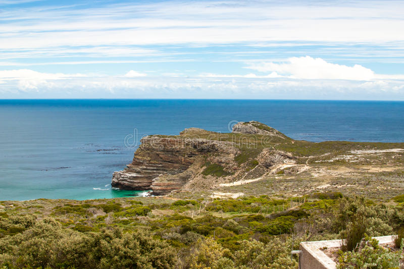 Cabo de Buena Esperanza. Península Océano Atlántico del cabo. Cape Town. Sudáfrica imagen de archivo libre de regalías