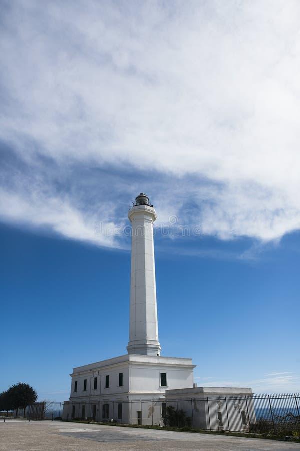 Cabo de Leuca faro-Apulia-Italia fotos de archivo libres de regalías
