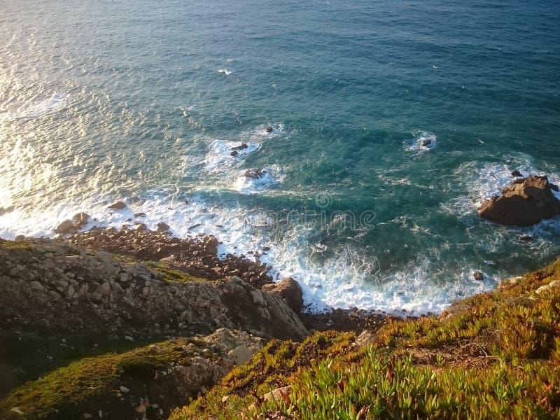 Cabo de roca photos stock