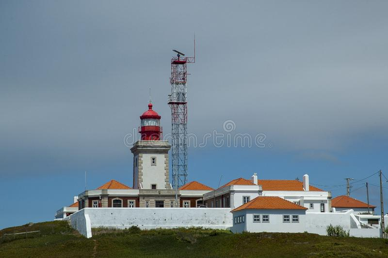 Cabo de Roca in Portugal stockbild