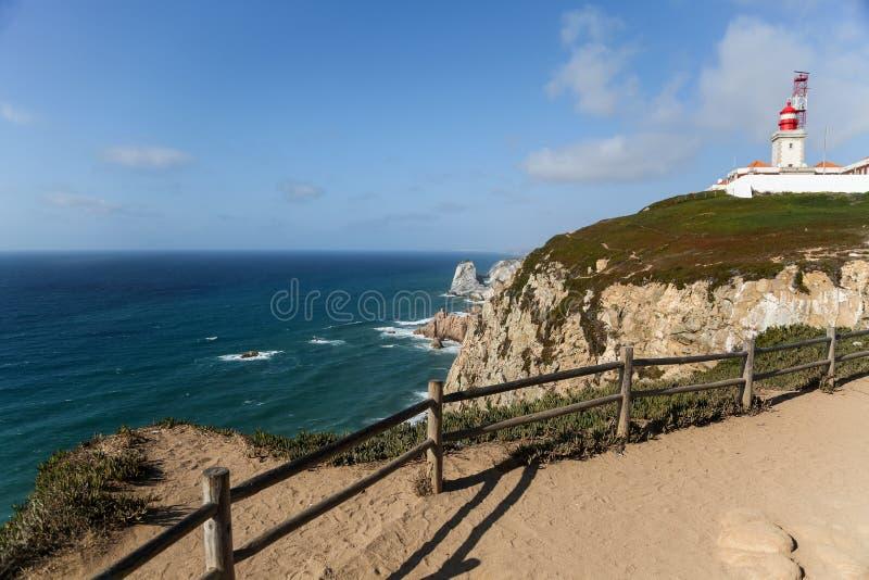Cabo de Roca, Portugal stock photos
