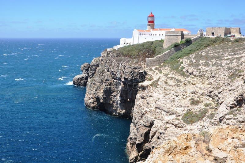 Cabo de S. Vicente stock photography