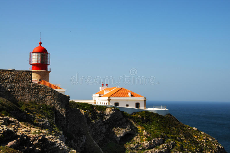 Cabo de Sao Vicente fotografia de stock royalty free