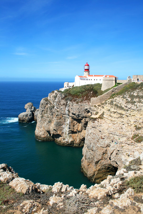 Cabo de Sao Vincente lizenzfreies stockfoto