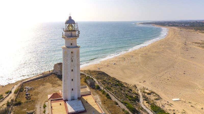 Cabo de Trafalgar, Costa de la Luz, Andalucía, España foto de archivo libre de regalías