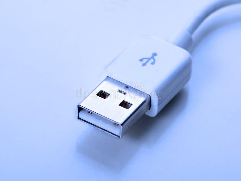 Cabo do USB fotos de stock