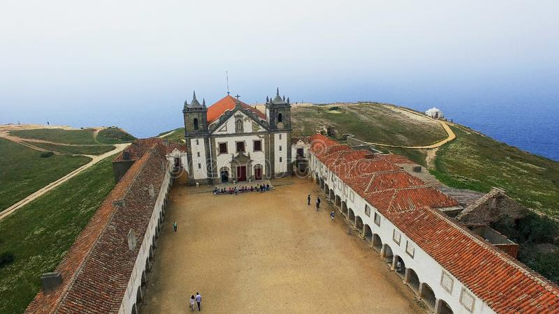 Cabo Espichel, Portugal royalty free stock photography