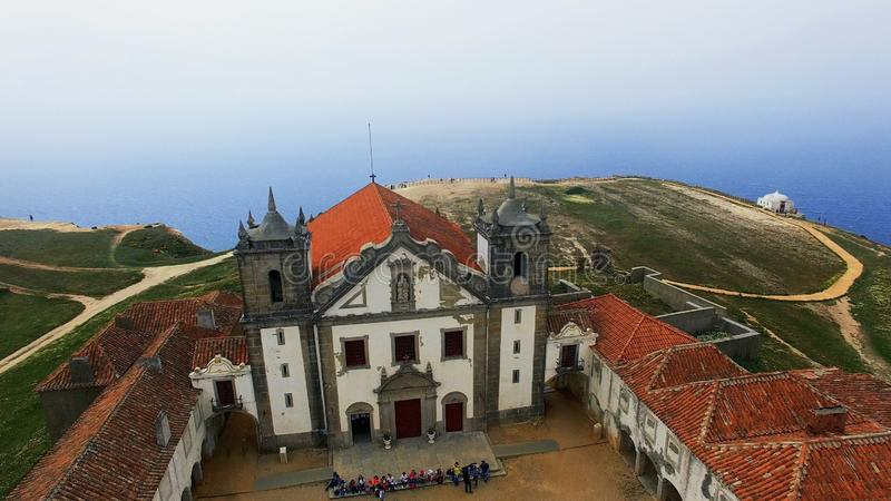 Cabo Espichel, Portugal lizenzfreie stockbilder