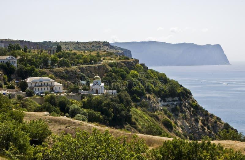 Cabo Fiolent, Crimea imagen de archivo libre de regalías