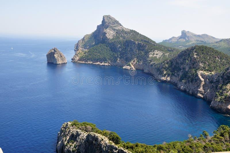 Cabo Formentor imagenes de archivo