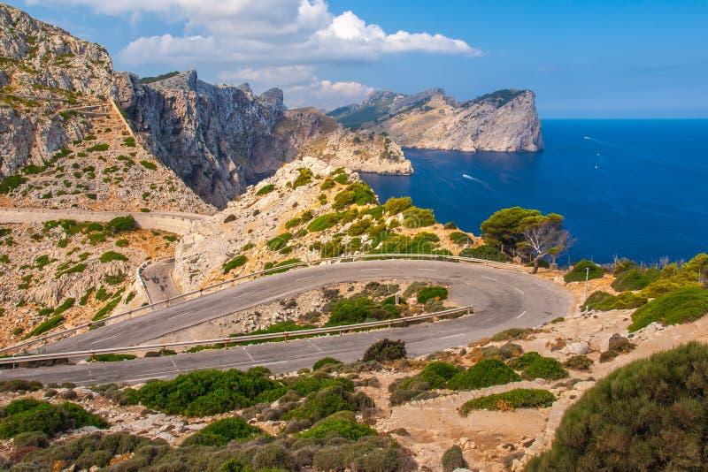 Cabo Formentor fotografía de archivo libre de regalías