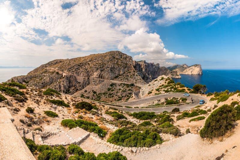 Cabo Formentor imagen de archivo