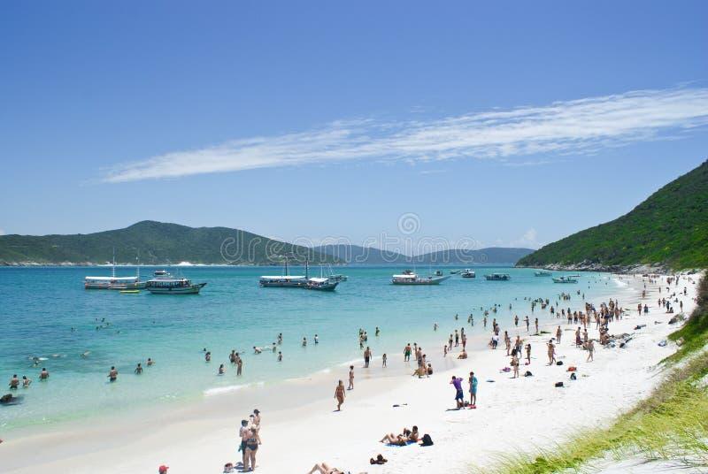 Cabo Frio, Βραζιλία στοκ εικόνα