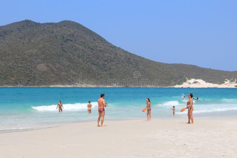 Cabo Frio, Brasil foto de stock
