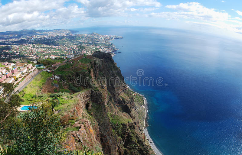 从Cabo Girao的看法 免版税库存图片