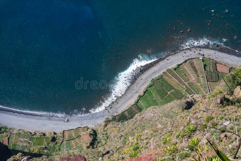 Cabo Girao fotografia stock libera da diritti