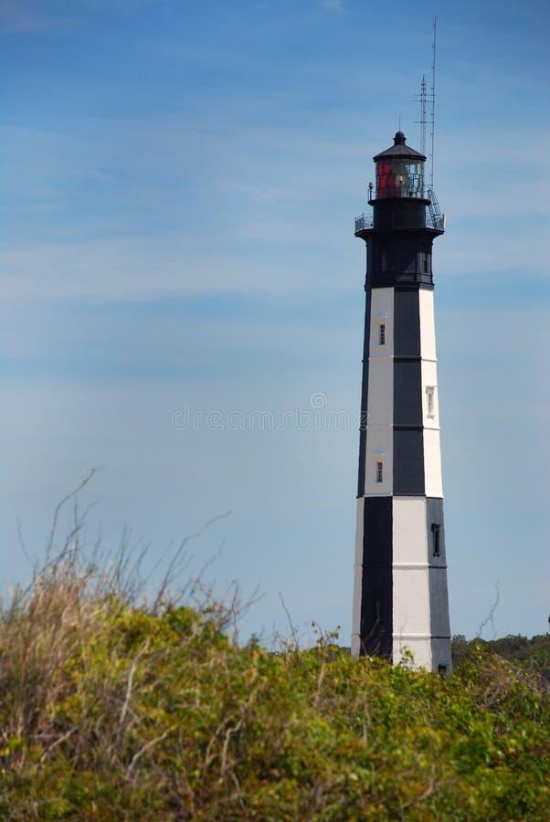 Cabo novo Henry Lighthouse, Virgínia EUA foto de stock royalty free