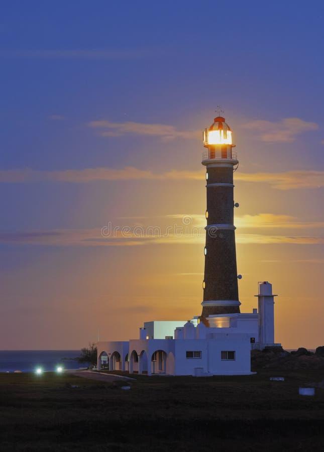 Cabo Polonio arkivbild