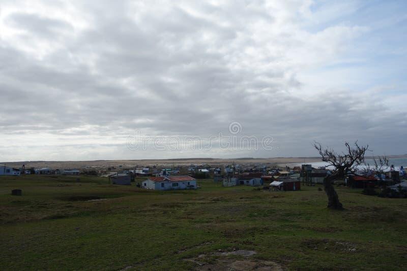 Cabo-polonio Dorf, Uruguay stockfotos