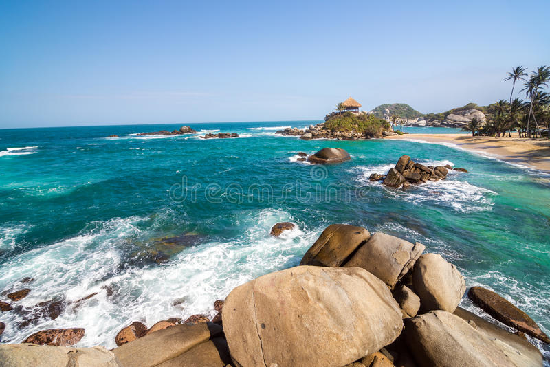 Cabo San Juan del Guia royalty free stock photography
