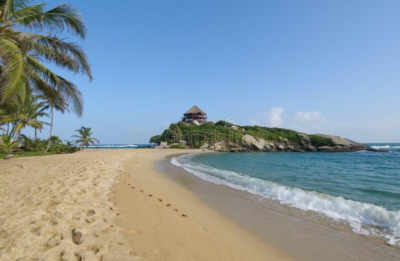 Cabo San Juan, parque nacional de Tayrona, Colombia imagenes de archivo