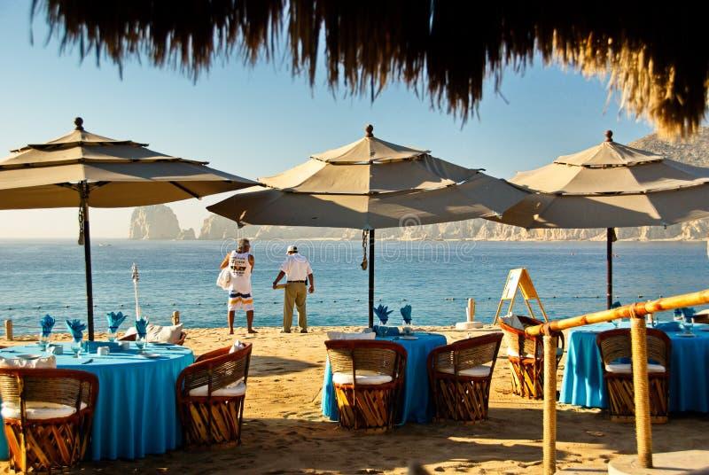 Cabo San Lucas Beach Relaxation stock image