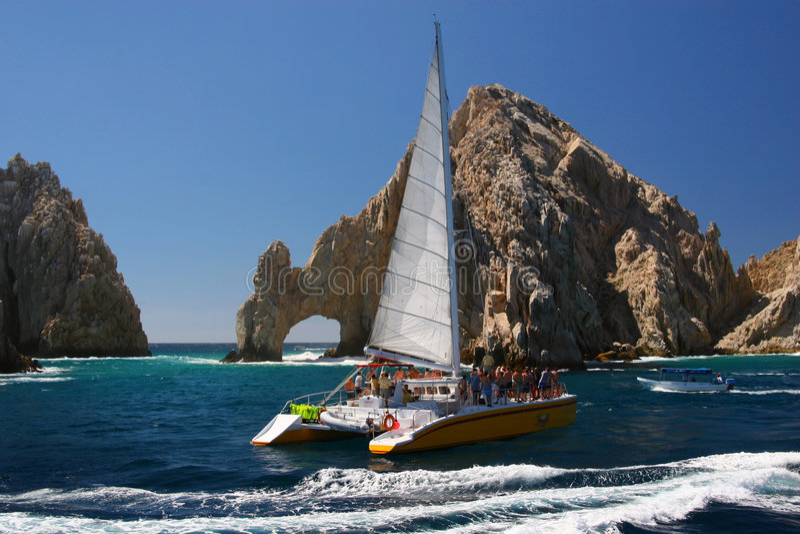 Cabo San Lucas Bogen stockbilder