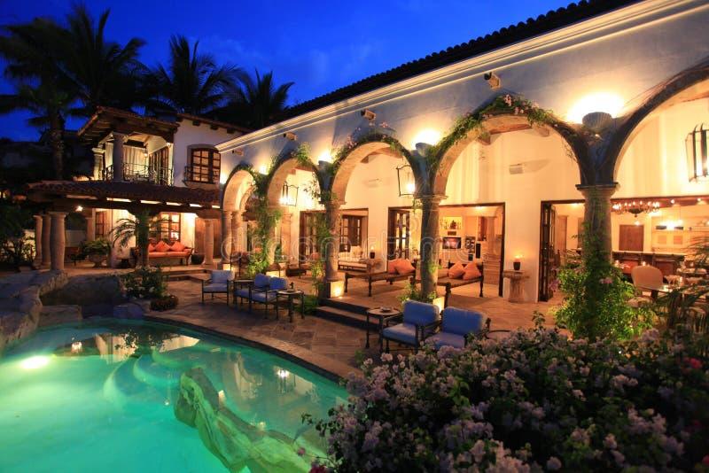 Cabo San Lucas Landhaus lizenzfreies stockbild