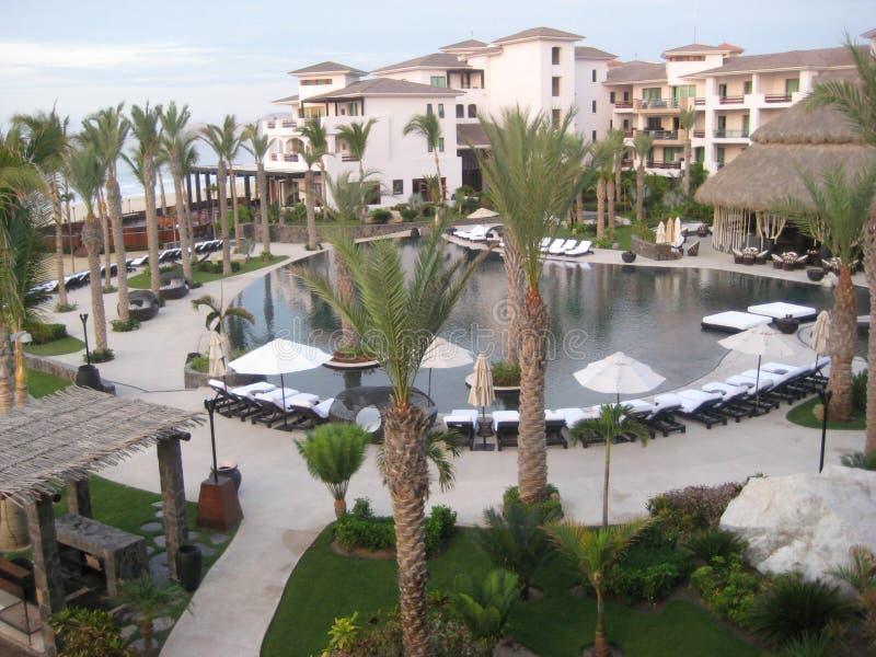 Cabo San Lucas Resort Penthouse View photographie stock