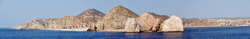 Cabo San Lucas resort scenic royalty free stock photo