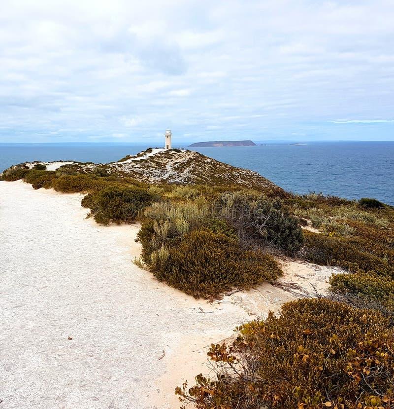 Cabo Spencer Lighthouse, Innes National Park foto de stock royalty free