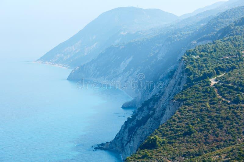 Download Cabo Sul Da Ilha De Lefkas (Greece) Foto de Stock - Imagem de céu, feriados: 29844498