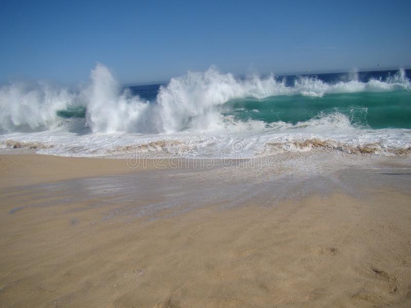 Cabo vågor arkivfoton