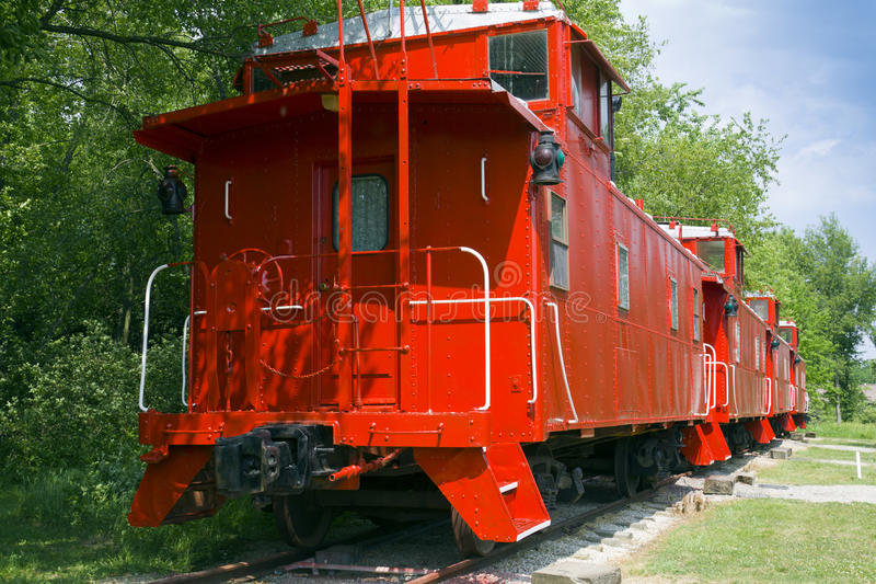Caboose stock photography
