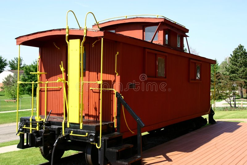 Caboose royalty free stock images