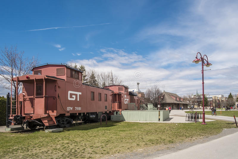 Caboose editorial stock photo  Image of jerome