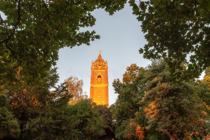 Cabot Tower Bristol imagens de stock