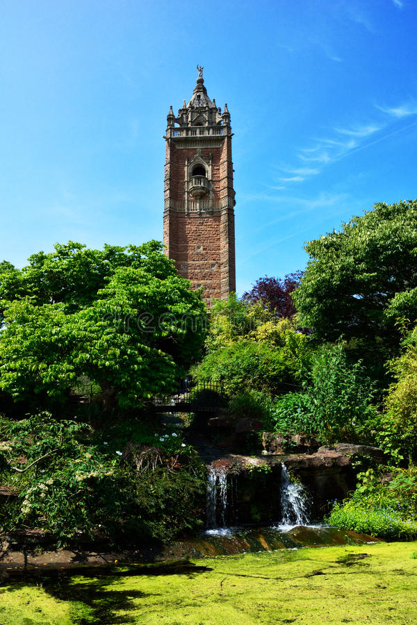 Cabot Tower in Bristol royalty free stock image