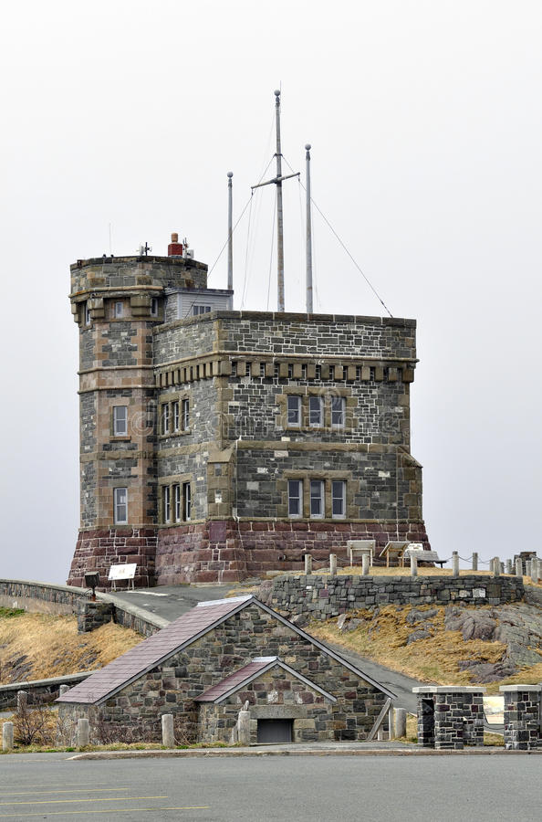 Cabot Tower, Neufundland lizenzfreie stockfotos