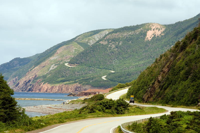 Download Cabot Trail stock photo. Image of ocean, parks, mountains - 16268804