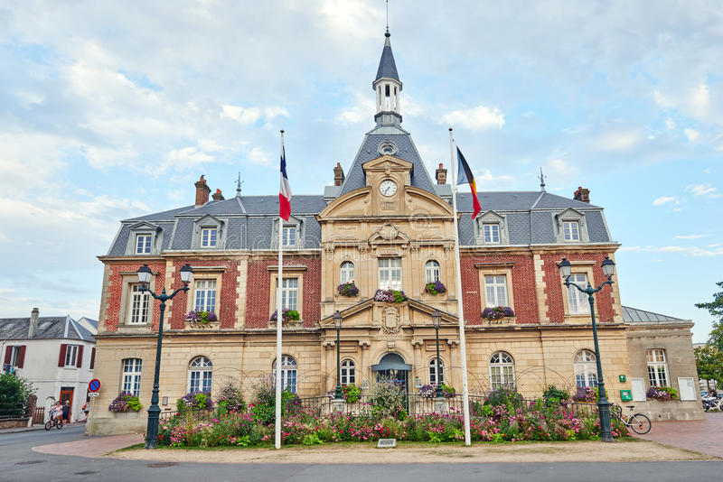 Cabourg i Normandie, Frankrike royaltyfri bild
