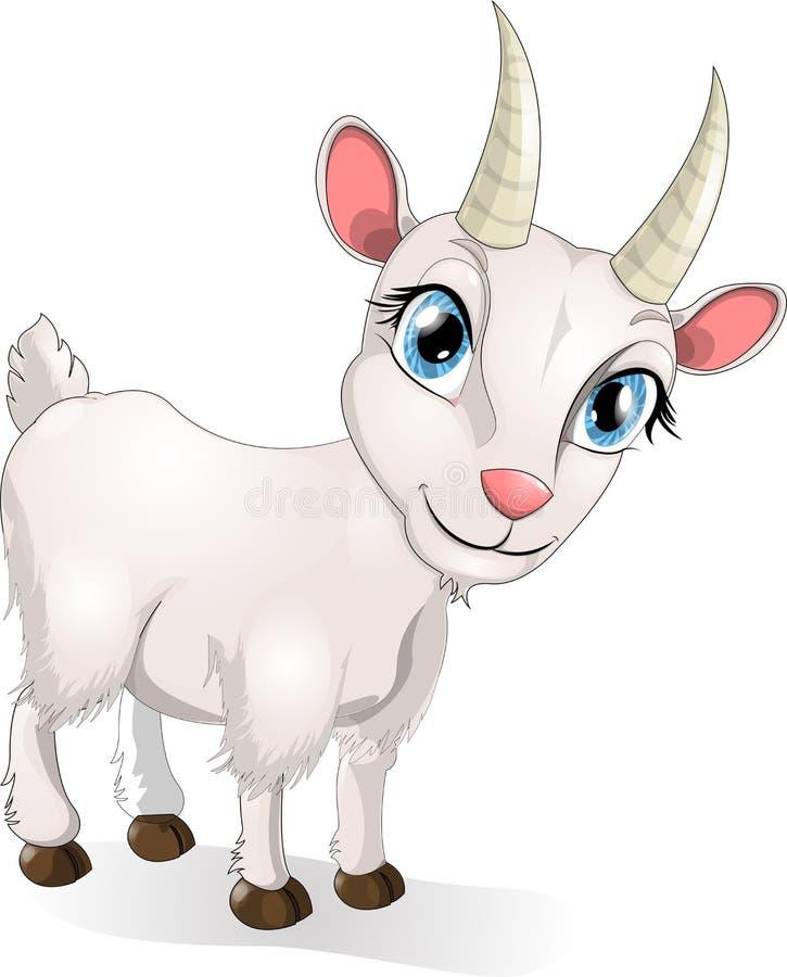 Cabra stock de ilustración