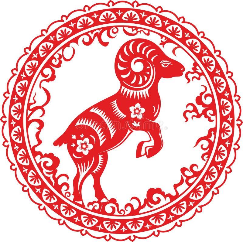Cabra Año chino 2015 libre illustration