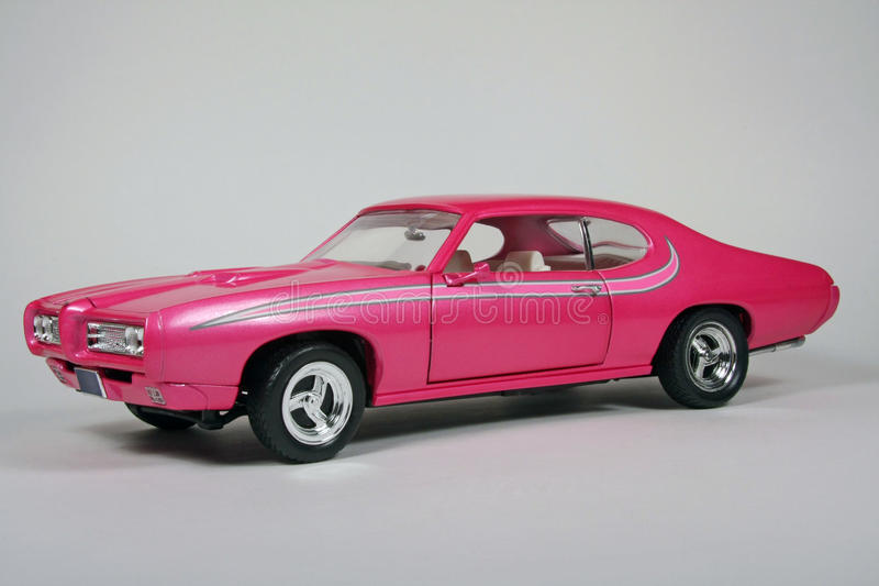 Cabra da cor-de-rosa quente imagens de stock