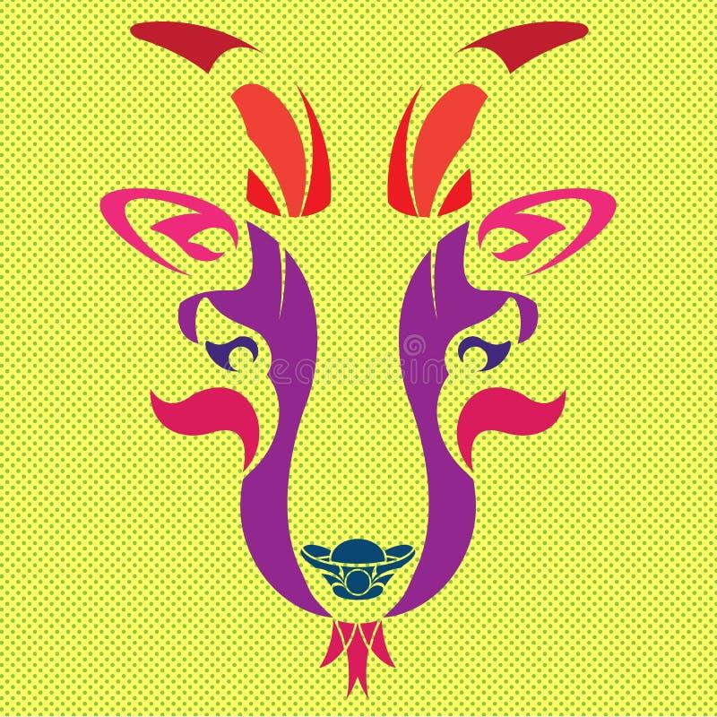 CABRA DE OPERA ilustração royalty free