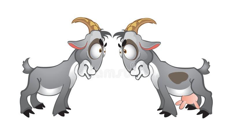 Cabras stock de ilustración