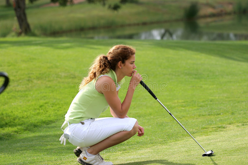 Cabrera, Ladies European Tour, Castelllon, 2006 stock images