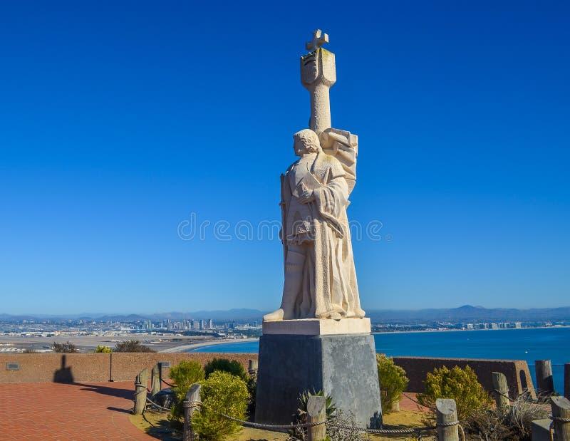 Cabrillo国家历史文物,加利福尼亚 免版税图库摄影