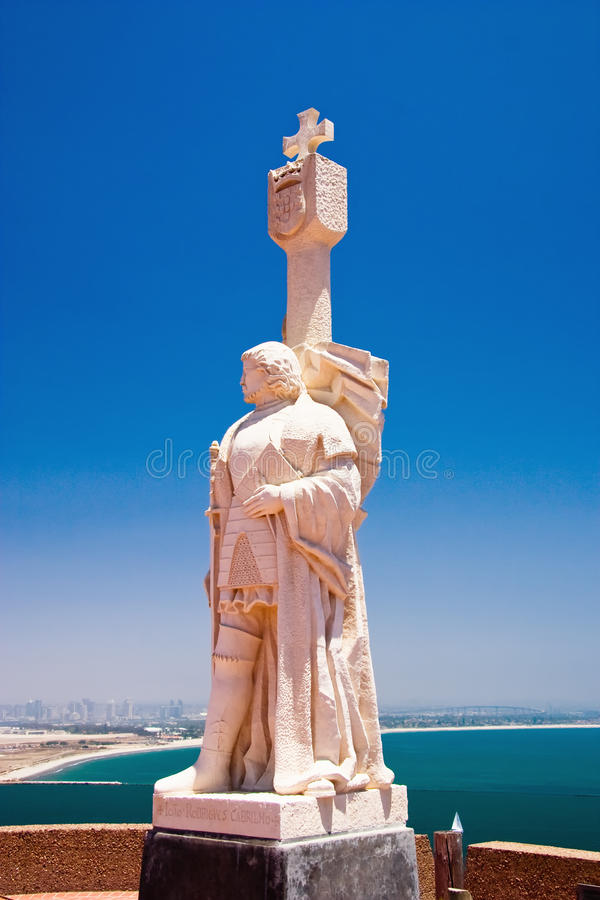 cabrillo纪念碑国民 免版税库存图片