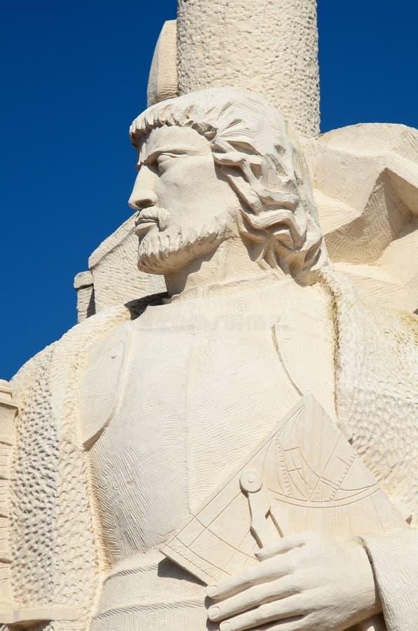 Cabrillo monument fotografering för bildbyråer